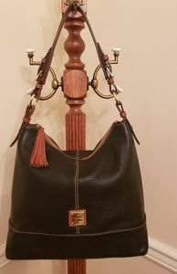 Dooney and Bourke Pebble Leather Sophie Hobo